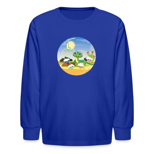Babyccinos Alphabet Letter L - Kids' Long Sleeve T-Shirt