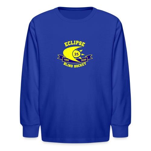 25th Anniversary Gear Yellow - Kids' Long Sleeve T-Shirt