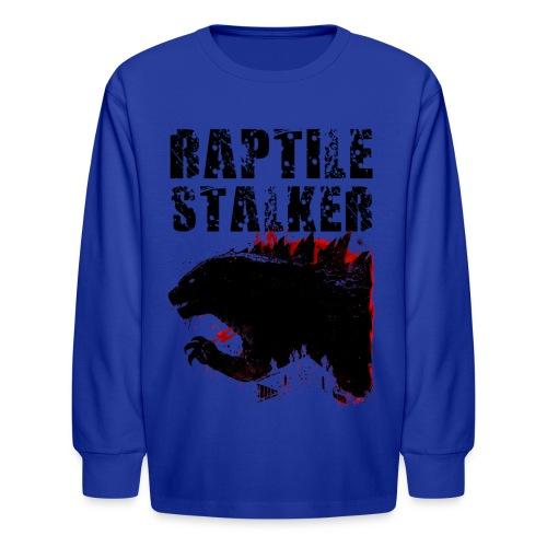 Raptile Stalker - Kids' Long Sleeve T-Shirt