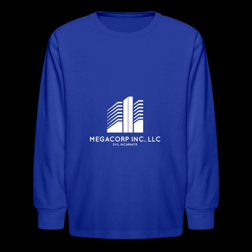 MEGACORP - GIANT EVUL CORPORATION - Kids' Long Sleeve T-Shirt
