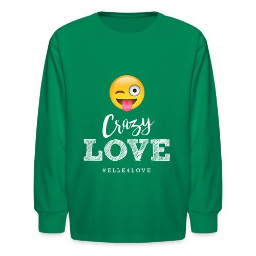 Crazy Love - Kids' Long Sleeve T-Shirt