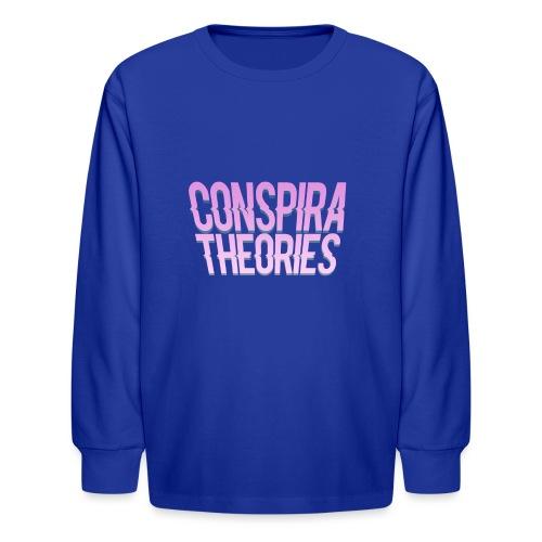 Women's - ConspiraTheories Official T-Shirt - Kids' Long Sleeve T-Shirt