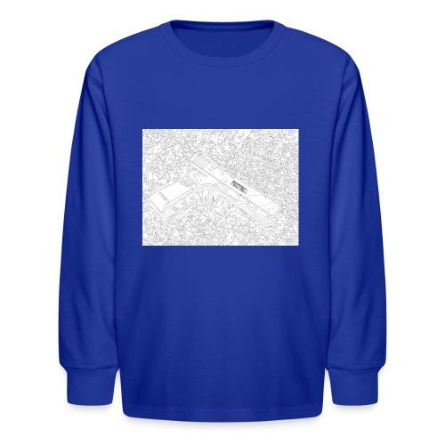 GunLines - Kids' Long Sleeve T-Shirt