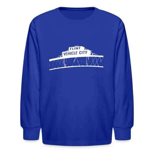 Flint Vehicle City - Kids' Long Sleeve T-Shirt