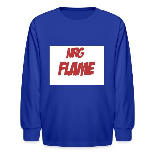 Flame For KIds - Kids' Long Sleeve T-Shirt
