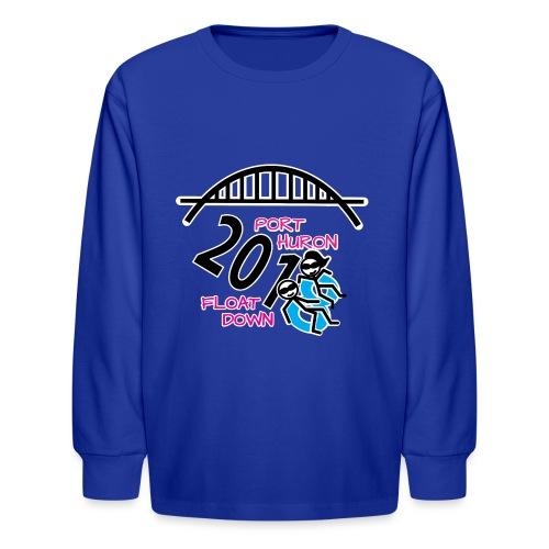 Port Huron Float Down 2018 Shirt - Color - Kids' Long Sleeve T-Shirt