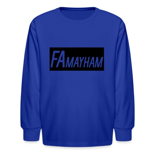 FAmayham - Kids' Long Sleeve T-Shirt