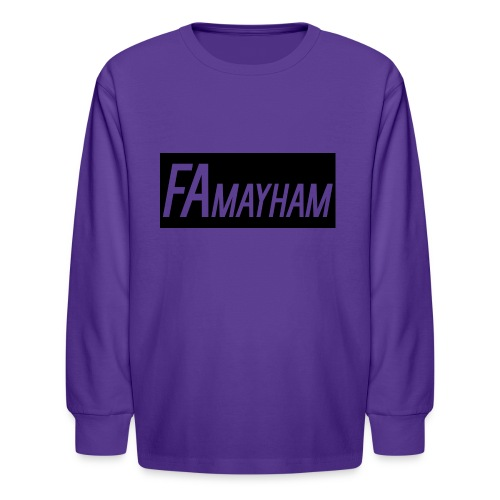 FAmayham - Kids' Long Sleeve T-Shirt