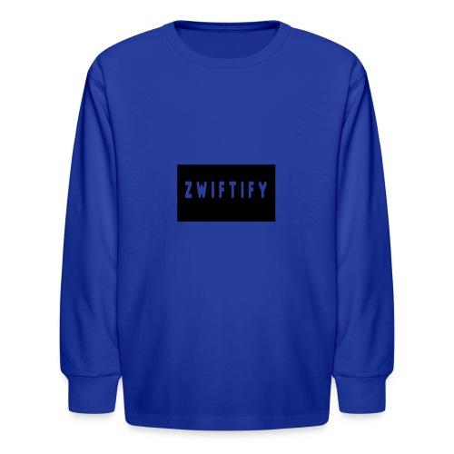zwiftify - Kids' Long Sleeve T-Shirt
