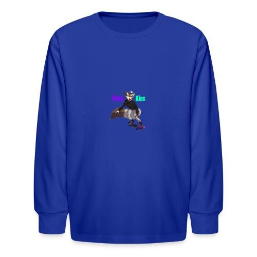 FizzyKins Design #1 - Kids' Long Sleeve T-Shirt
