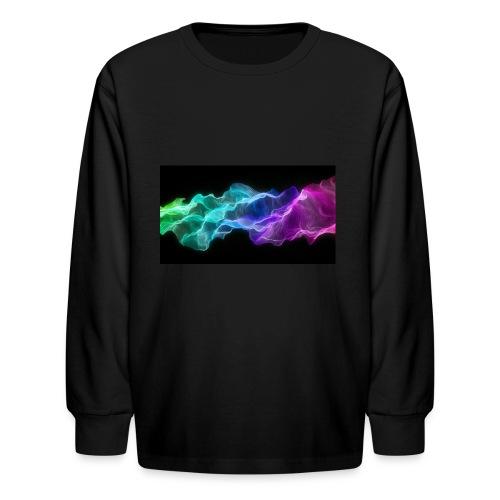 ws Curtain Colors 2560x1440 - Kids' Long Sleeve T-Shirt
