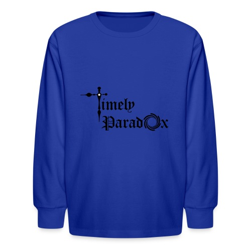 Timely Paradox - Kids' Long Sleeve T-Shirt