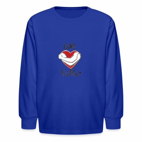 LOVE YOURSELF - Kids' Long Sleeve T-Shirt