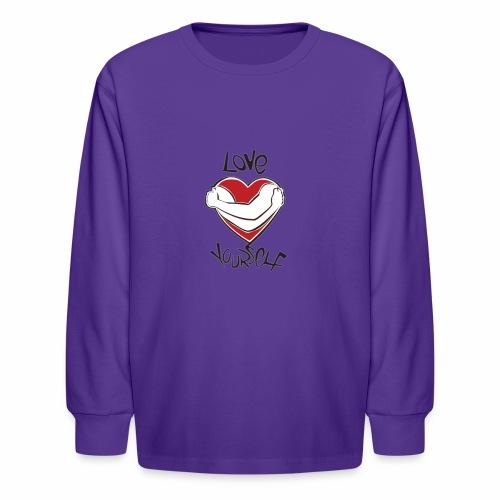 LOVE YOURSELF - Kids' Long Sleeve T-Shirt
