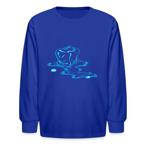 Ice melts - Kids' Long Sleeve T-Shirt