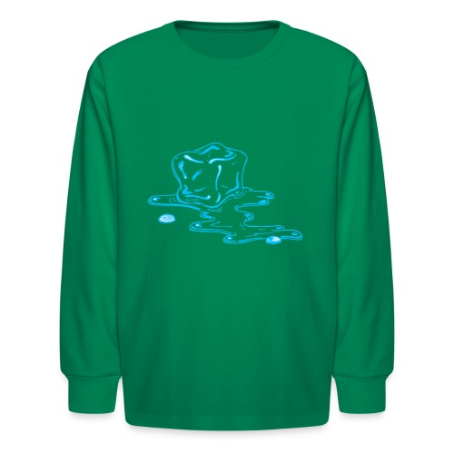 Ice melts - Kids' Long Sleeve T-Shirt