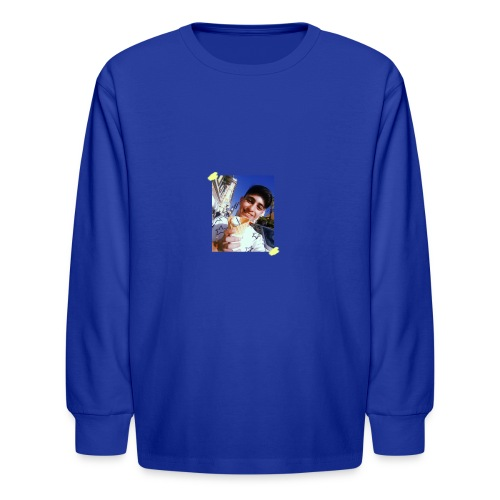 WITH PIC - Kids' Long Sleeve T-Shirt