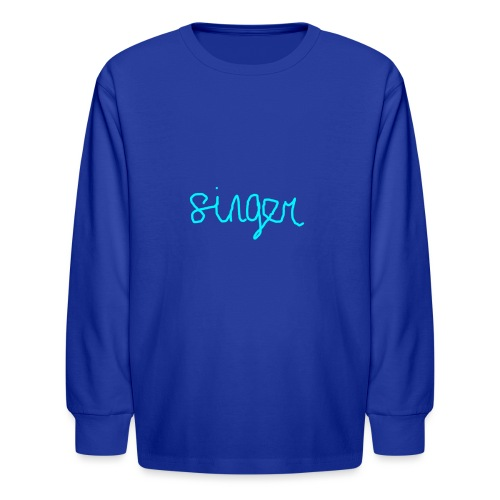 SINGER - Kids' Long Sleeve T-Shirt