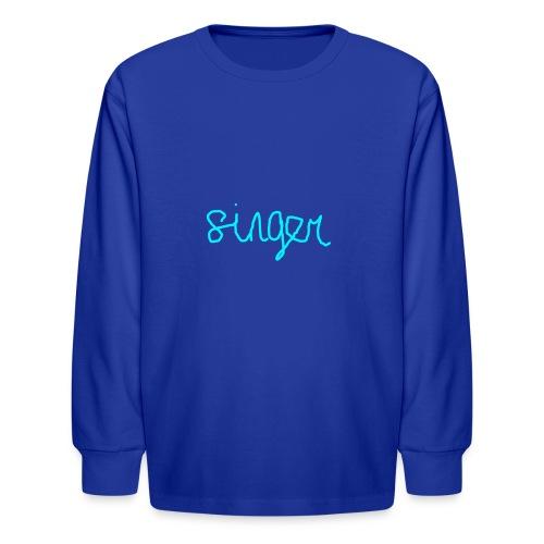 SINGER - Kids' Long Sleeve T-Shirt