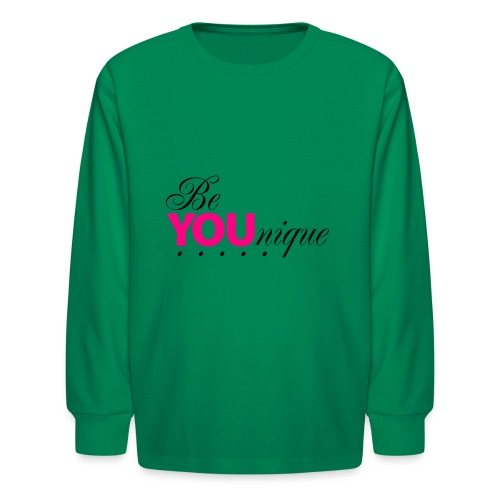 Be Unique Be You Just Be You - Kids' Long Sleeve T-Shirt