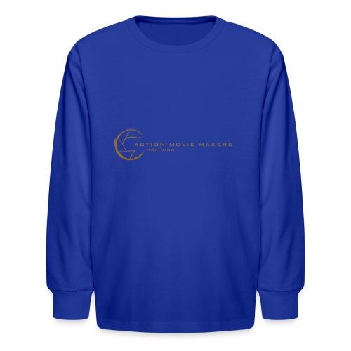AMMT Logo Modern Look - Kids' Long Sleeve T-Shirt