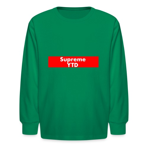supreme ytd - Kids' Long Sleeve T-Shirt