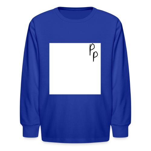 My signature - Kids' Long Sleeve T-Shirt