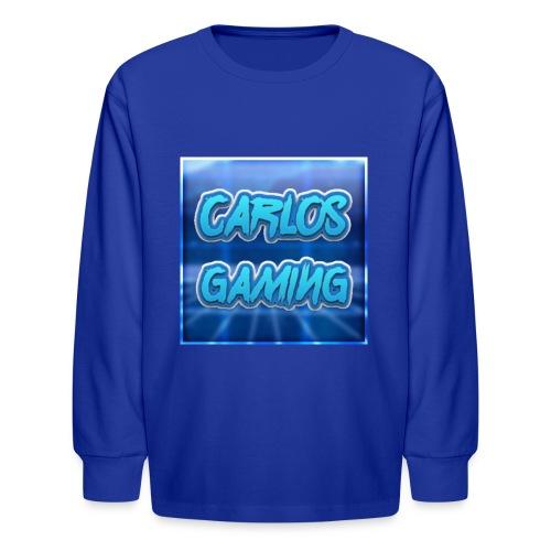 Carlos Gaming merchandise - Kids' Long Sleeve T-Shirt