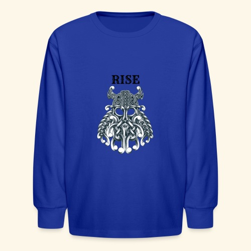 RISE CELTIC WARRIOR - Kids' Long Sleeve T-Shirt