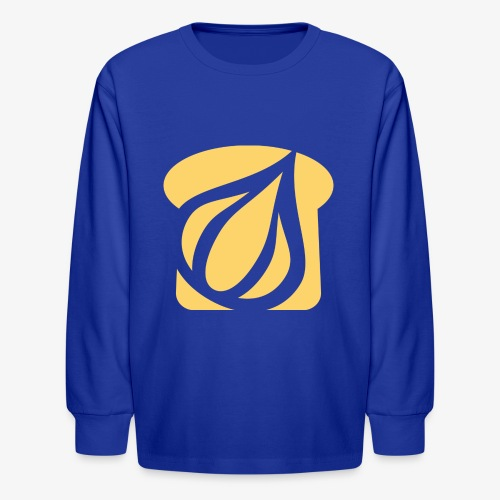 Garlic Toast - Kids' Long Sleeve T-Shirt