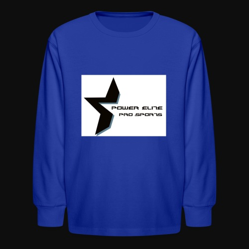 Star of the Power Elite - Kids' Long Sleeve T-Shirt