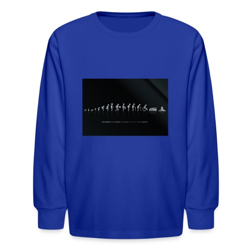 DIFFERENT STAGES OF HUMAN - Kids' Long Sleeve T-Shirt