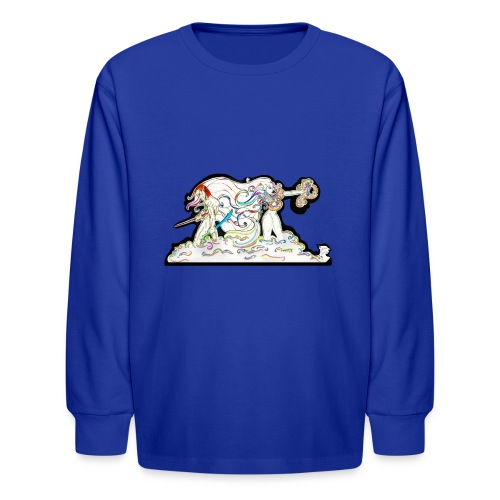 MD At Your Side - Kids' Long Sleeve T-Shirt