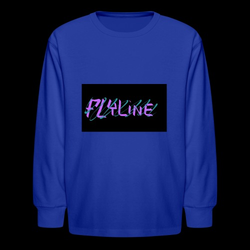 Flyline fun style - Kids' Long Sleeve T-Shirt