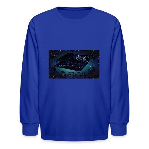 ps4 back grownd - Kids' Long Sleeve T-Shirt