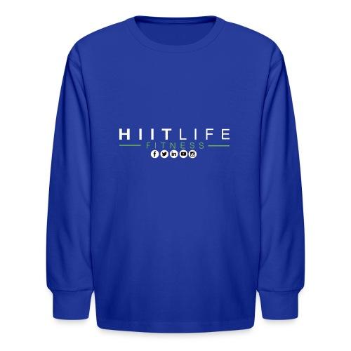 hlfsocialwht - Kids' Long Sleeve T-Shirt