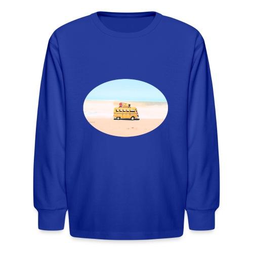 Noosa Car Beach - Kids' Long Sleeve T-Shirt