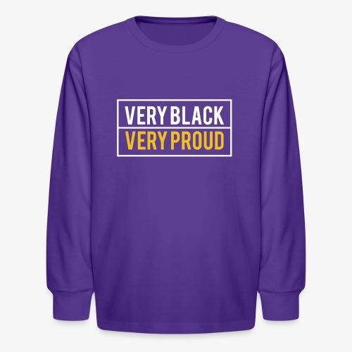Melanin Pride - Kids' Long Sleeve T-Shirt