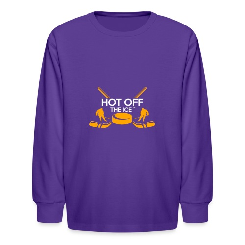 Hot Off The Ice - Kids' Long Sleeve T-Shirt