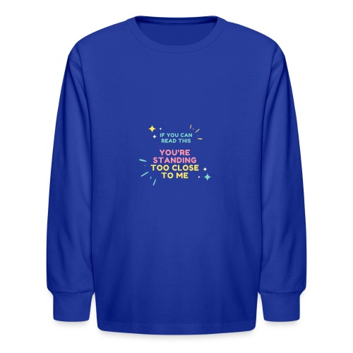Fight Corona - Kids' Long Sleeve T-Shirt