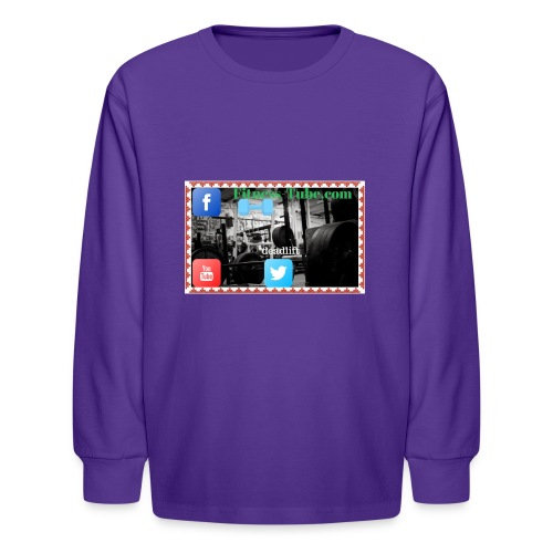 gym199 1 - Kids' Long Sleeve T-Shirt