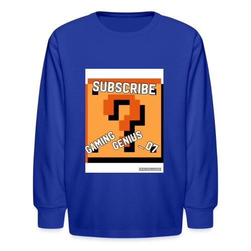 B352BFF4 2E34 449A 996F 7F29B471DB3E - Kids' Long Sleeve T-Shirt