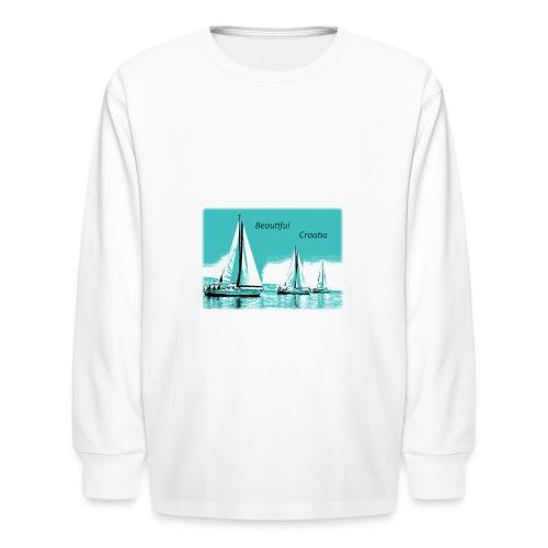 Beautiful Croatia - Kids' Long Sleeve T-Shirt