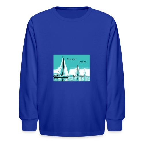 Beautiful Croatia - Kids' Long Sleeve T-Shirt