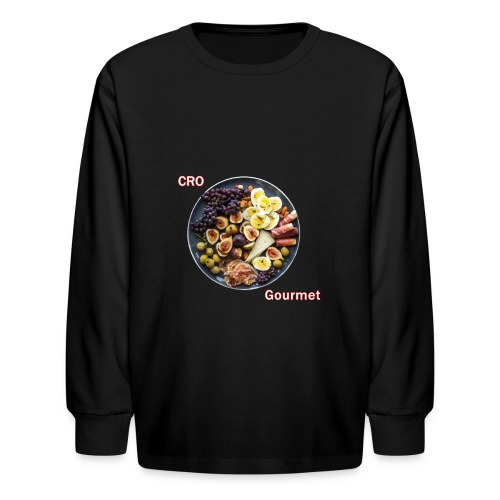 Croatian Gourmet - Kids' Long Sleeve T-Shirt