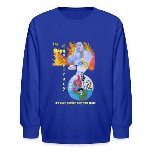 Mayo-Conspiracy - Kids' Long Sleeve T-Shirt