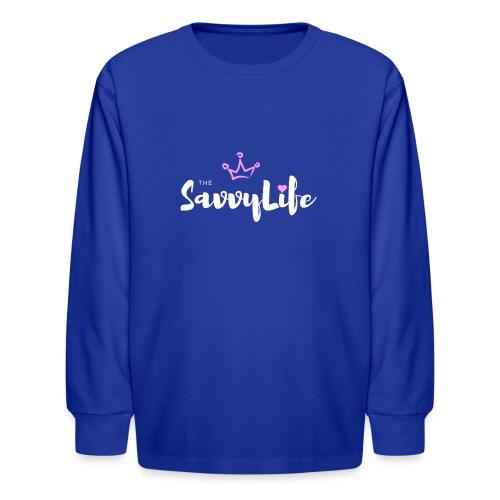 The Savvy Life - Kids' Long Sleeve T-Shirt