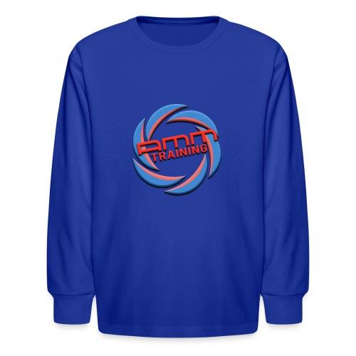 AMMT LOGO WEB - Kids' Long Sleeve T-Shirt