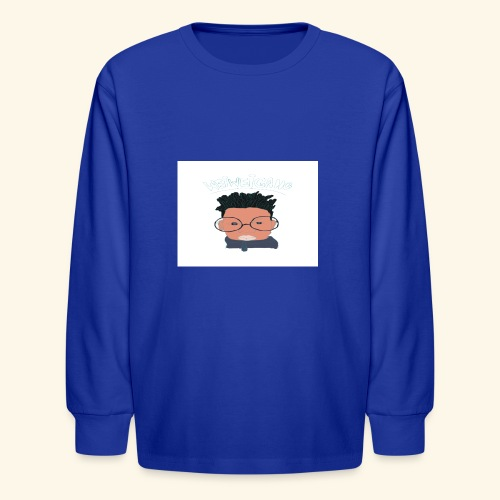 weiweigang logo edit - Kids' Long Sleeve T-Shirt