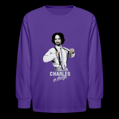 CHARLEY IN CHARGE - Kids' Long Sleeve T-Shirt
